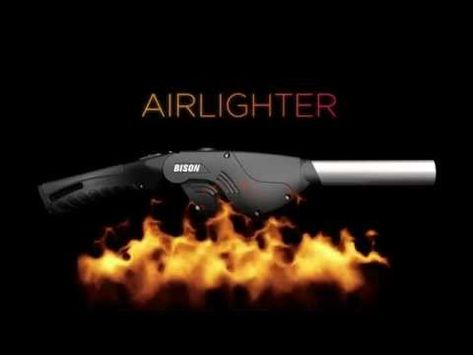 Innovative fire starter and blower to get things lit and hot fast!