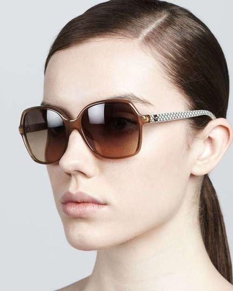 b064616b13 Tom Ford Bardot Sharp Cat-Eye Sunglasses