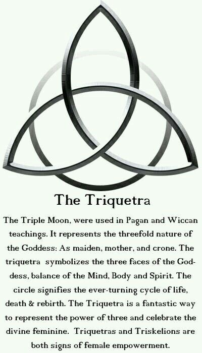 The Triquetra | Wicca, Wiccan, Book of shadows
