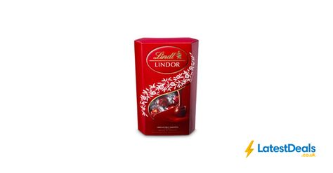 Lindt Lindor Milk Chocolate Truffles 337g Free Cc 525 At