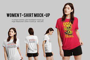 Download Women T Shirt Mock Up Psd Mockup Free Mockups Psd Shirt Mockup Tshirt Mockup T Shirts For Women