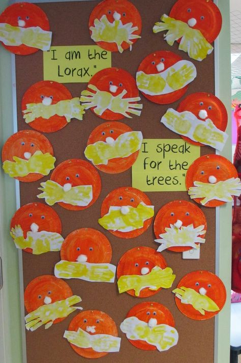 Love, Laughter and Learning in Prep! Toddler Art, Toddler Crafts, Dr Seuss Week, Dr Suess, Dr Seuss Crafts, Dr Seuss Activities, The Lorax, Preschool Crafts, Laughter