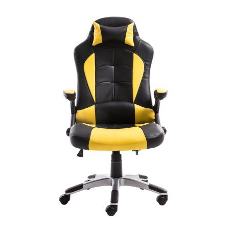 Office Chairs For Heavy People Adjusting Headrest High Back Pu