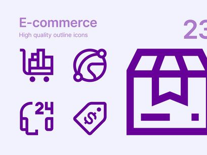 E Commerce Icons In 2020 Icon Education Icon Responsive Email