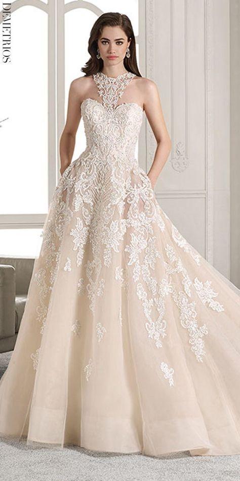 demetrios in 2019   dresses   pinterest   vestidos de novia, novios