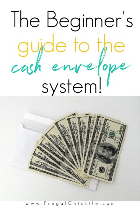 The Beginner's Guide to the Cash Envelope System