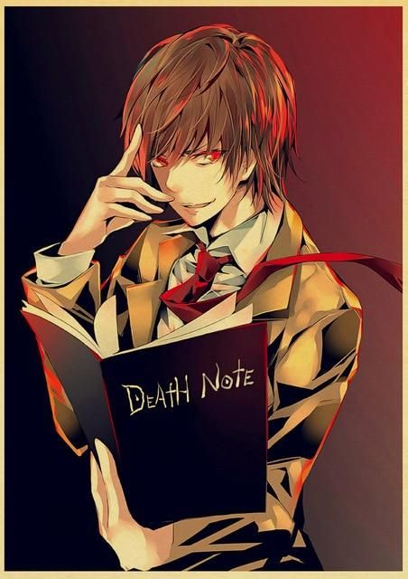 Death Note Posters Retro Posters - Q045 8