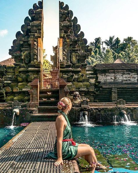 #agirlwhoblooms #agirlwhoblooms #mustvisit #mustvisit #indonesia #indonesia #location #location #temple #temple #photo #empul #empul #tirta #tirtaTirta Empul Temple is a must-visit location in Bali,  Photo by: IG @agirlwhoblooms -