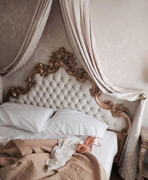 Home Interior Decoration .Home Interior Decoration Bedroom Inspo, Bedroom Decor, Parisian Bedroom, Parisian Chic Decor, Royal Bedroom, Bedroom Colors, Bedroom Ideas, Design Living Room, Decoration Design