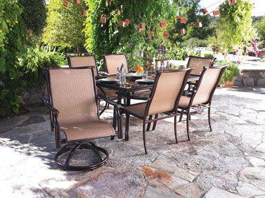 living accents bahama aluminum rectangle glass top patio dining rh nl pinterest com living accents patio furniture living accents patio furniture covers