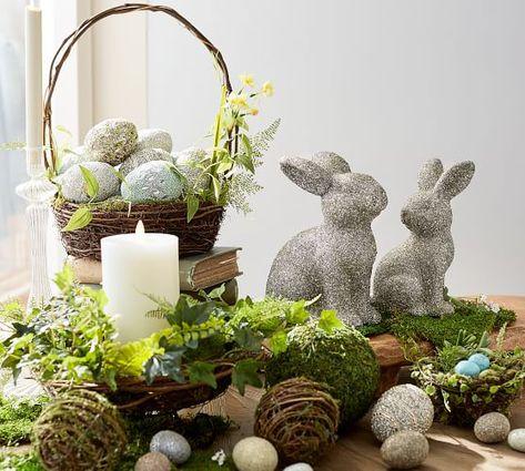 Botanical Nest Basket #potterybarn