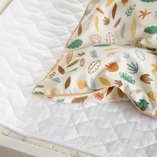 Matratzentopper Fur Kinderbett Aus Bio Baumwolle Kidswoodlove In 2020 Bett Kissen Kinderbett Kinder Bett
