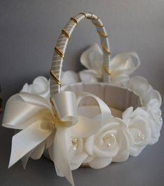 Imagen relacionada. Baptism IdeasIdeas Para FiestasWedding AccessoriesBasket ... & Canasta   ????????? ??????????.   Pinterest   Ideas para Crafts and ...