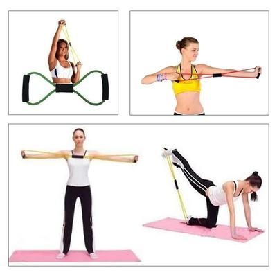 Assist Stretch Pull-up Widerstand-Bänder Crossfit Turnen Gymnastik Yoga Bänder
