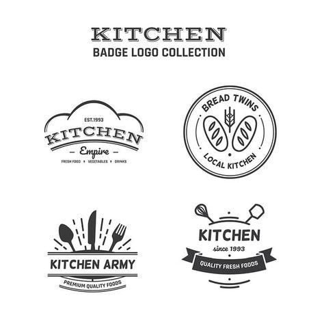 Food Logo Collection Plantilla De Diseno De Logo Gratis Logo Design Template Logo Design Free Templates Logo Design Free