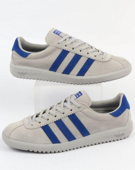 Adidas Bermuda Trainers GreyBold Blue,shoes,originals