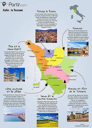 Carte Toscane Region Toscane Voyage Toscane Carte Toscane