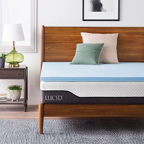 Lucid 10 Inch Gel Infused Memory Foam Mattress Memory Foam