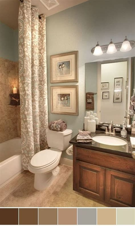 15 Small Bathroom Color Scheme Ideas Schemes Colors