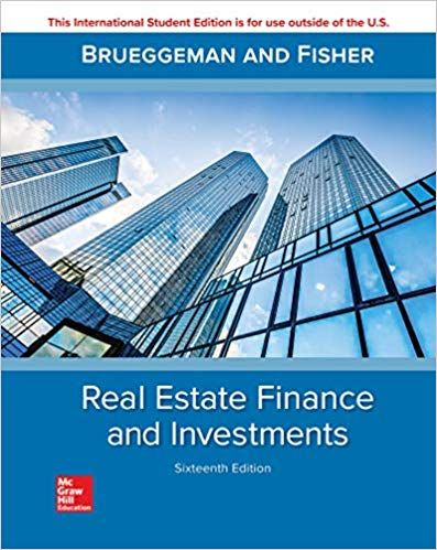 Real Estate Finance & Investments 16th edition | PDF