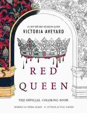 Red Queen Coloring Book Pdf Red Queen Victoria Aveyard Red Queen