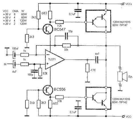 Power Darlington Transistor Circuit