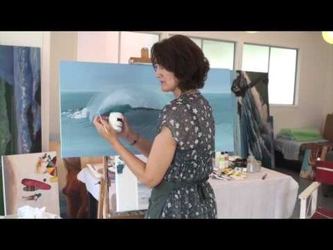 Free Art Lessons in Acrylic and Oil with Leisa O'Brien - YouTube