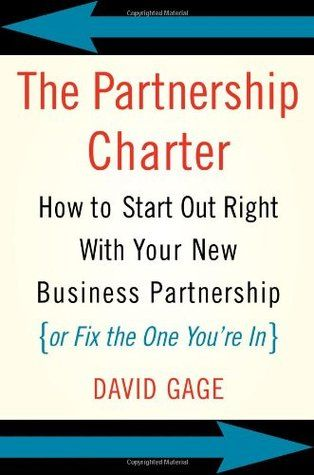 Pdf Download The Partnership Charter How To Start Out Right With