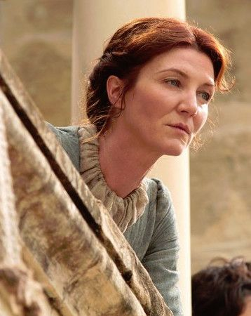 Catelyn Stark's Simple Updo - The Best Hair Looks From 'Game of Thrones' - Photos