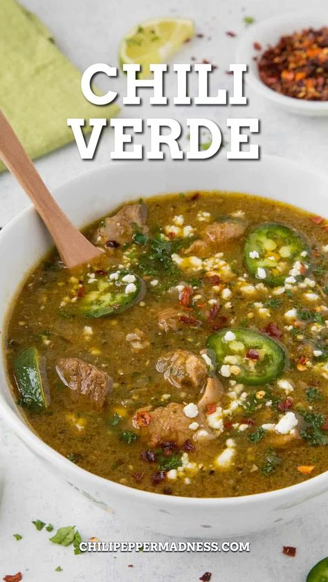 The Best Ever Chili Verde