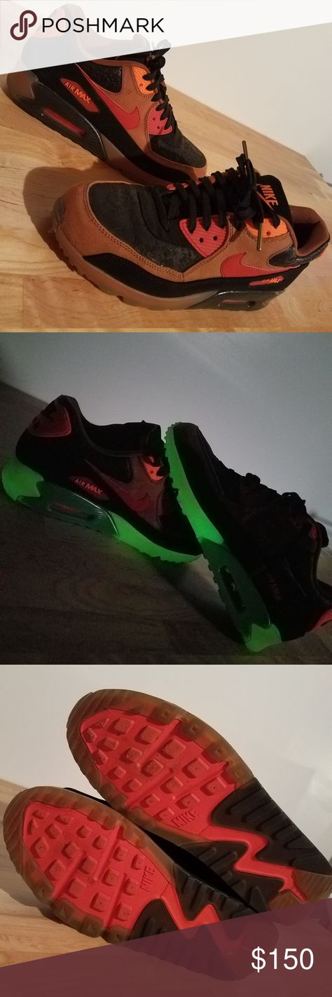 Air Max 90 Air Max 90 Halloween 2014 Edition. No scuffs, creases or marks. No box. Rare finds.price firm.size 9.5 Nike Shoes Sneakers