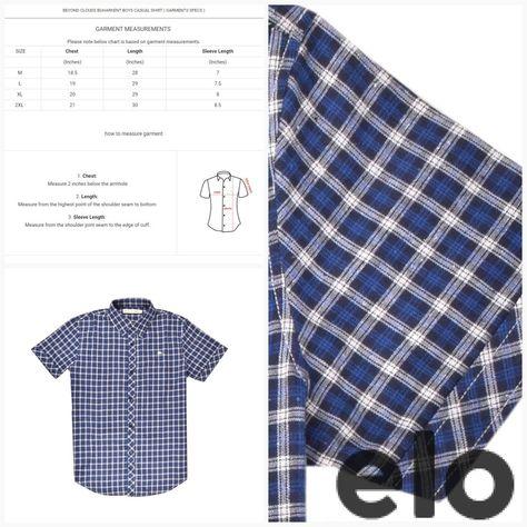 80eae53a6ec84 Beyond Clouds Eleskirt Boys Casual Shirt #bigbrands #elo4life  #exportleftovers #smallprices