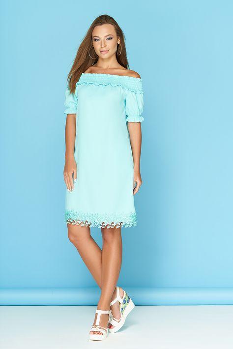 043e9cd4400c Платье Ярина 2 (минт) от производителя женской одежды Arizzo. Модное платье  оптом с доставкой по Украине.