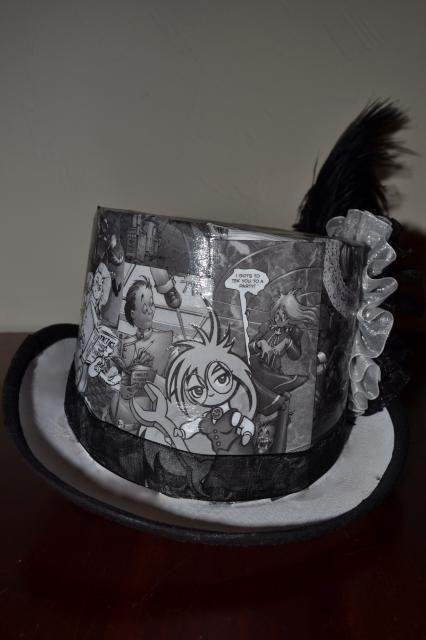 Comic book hat