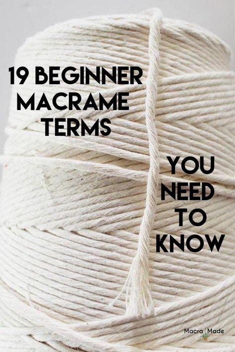 Macrame Plant Hanger Patterns, Free Macrame Patterns, Macrame Wall Hanging Patterns, Macrame Art, Macrame Design, Macrame Projects, Macrame Mirror, Creation Deco, Macrame Tutorial
