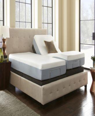 Ultima Silver Adjustable Base Gray Adjustable Bed Base