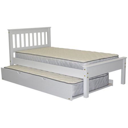 Free Shipping Buy Bedz King Mission Style Twin Bed With A Twin