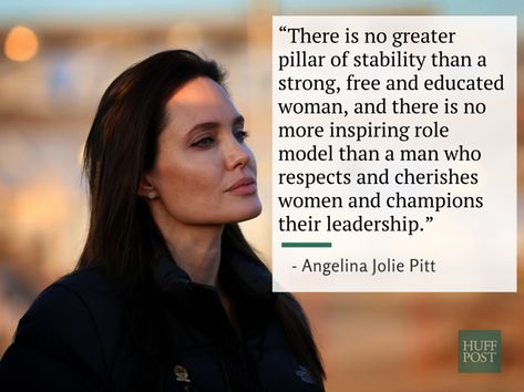 For years, I have admired and respected Ms. Jolie and for years to come I will continue to do so.