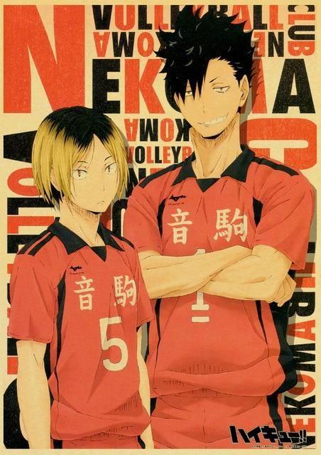 Haikyuu!! Posters - 42x30 cm / E193 14