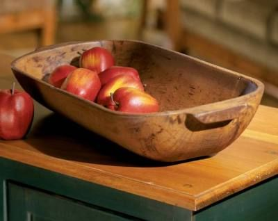 "Dough Bowl $34.95 from Victorian Trading Company (13 x 9"")"