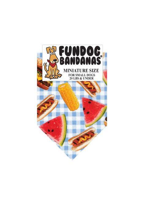 Junk Food Pet Bandana