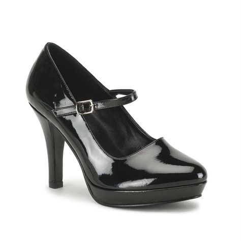 Pleaser Shoes France ♥ Block Heel Classic Pump ♥♥