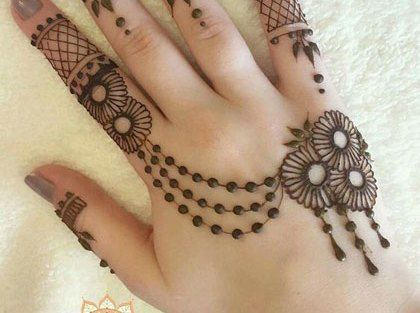 صور نقش الحناء Henna Hand Tattoo Hand Henna Hand Tattoos