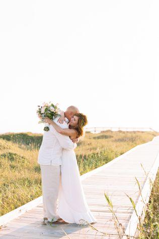 Destination Weddings A North Carolina Beach Wedding Real