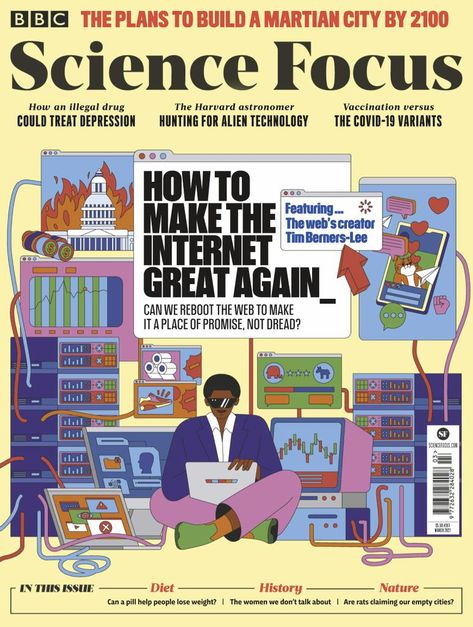 BBC Science Focus Back Issue March 2021 (Digital)