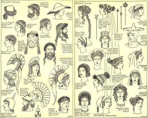 Ancient Greek Headwear  9f77a3ab551