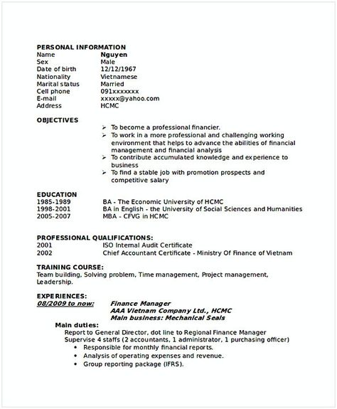 Sales Account Manager Resume  Resume For Manager Position  Many