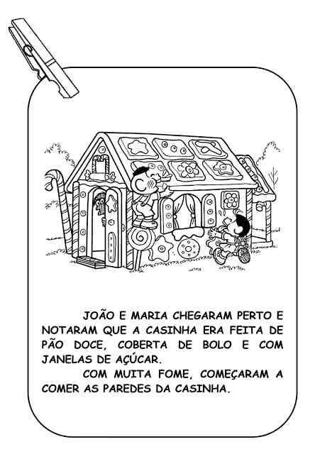 Historia Infantil Joao E Maria Com Imagens Para Imprimir Joao E