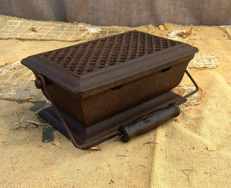 Antique Cast-Iron Heat Box