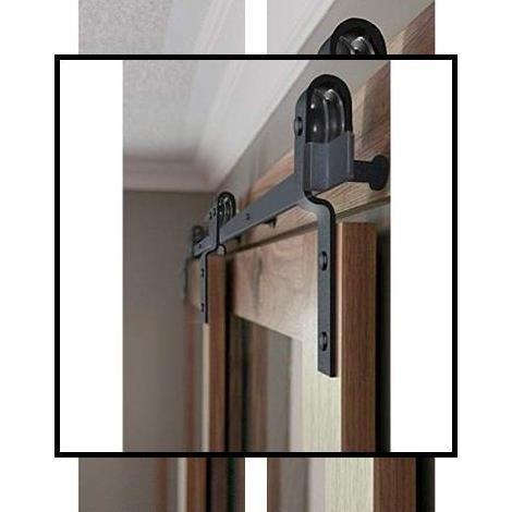 Heavy Duty Barn Door Hardware Iron Barn Door Hardware Hanging Sliding Barn Door Hardware In 2020 Interior Barn Door Hardware Inside Barn Doors Indoor Barn Doors
